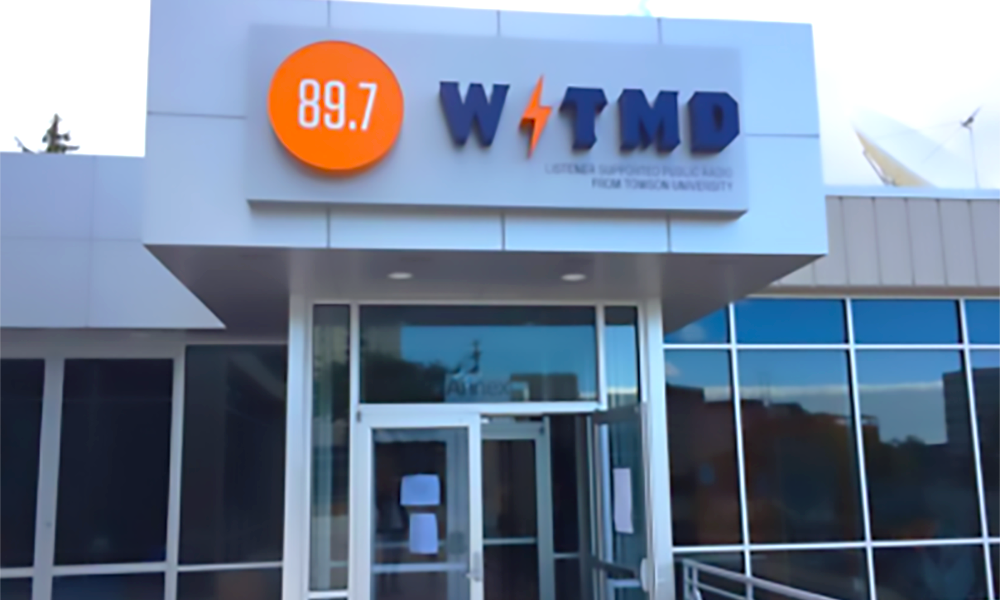 The New WTMD Broadcast and Community Center