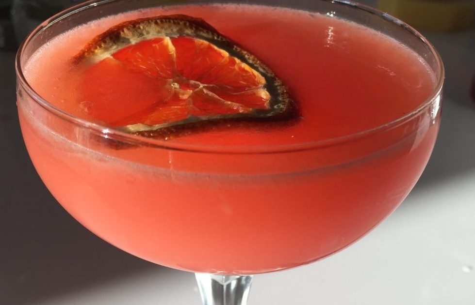 Stephen Yasko makes a dang good Burnt Orange Martini
